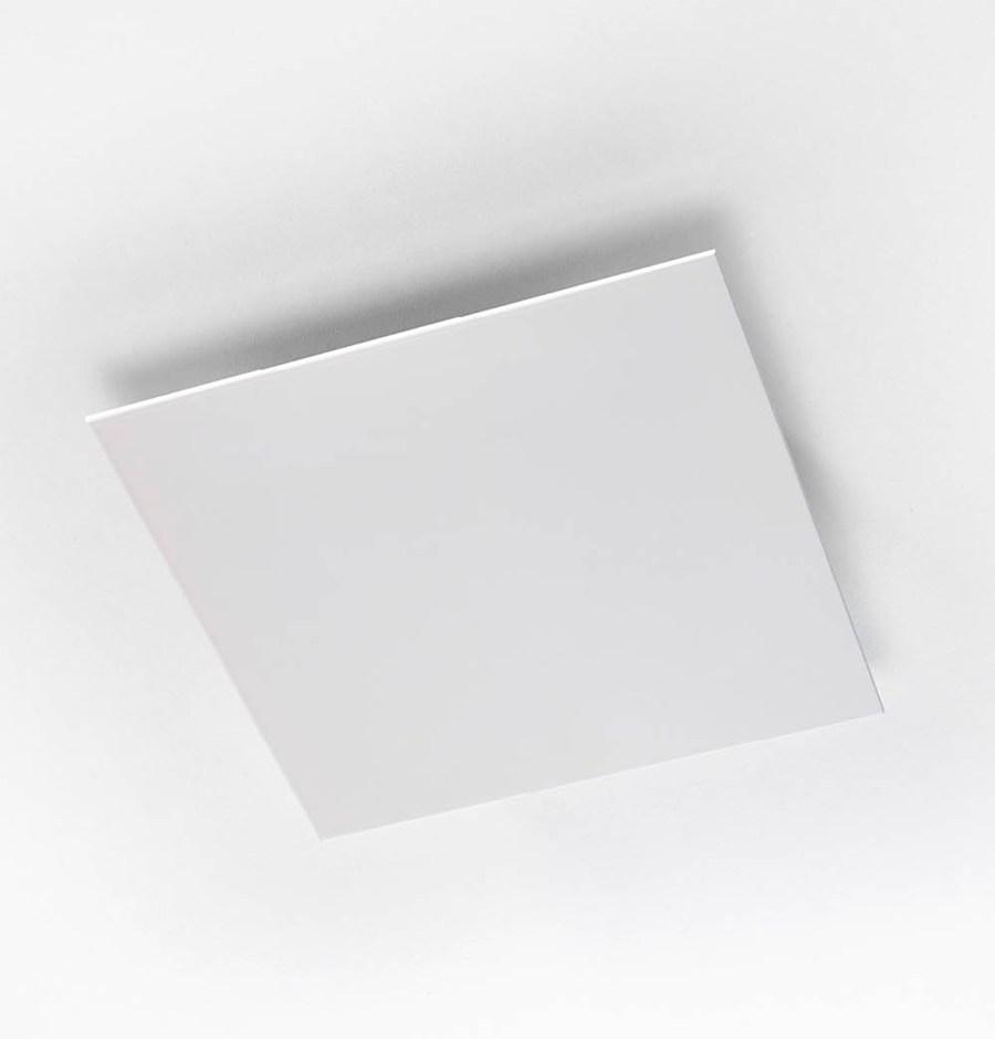 Afbeelding van Design plafond rooster Vierkant Duco Ducovent Wit 125mm