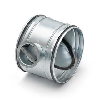 Afbeelding van Air Spiralo 125 Klmc Regelklep 100% Dicht Vv Ken lok