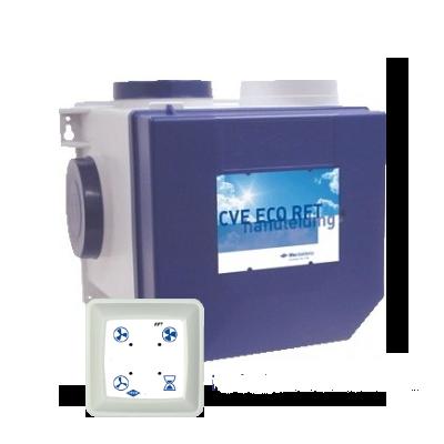 Ventilatie Itho Daalderop Itho ventilatie box CVE EcoFan HE incl. rft zender