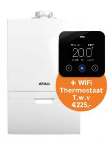 Aanbieding! Atag I36ECZ CW5 60/100 + gratis One Zone thermostaat (zwart)