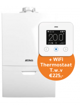 Atag i28ECZ CW4 60/100 + gratis One Zone Thermostaat (wit)