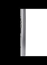 Alu rookgas buis dunwandig 130mm