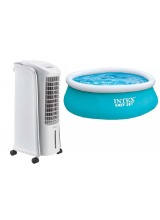 Superstunt! Qlima mobiele Aircooler LK2035 (Let op! Geen airco) incl. gratis Intex zwembad