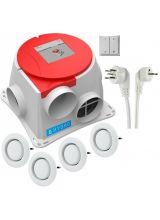 Zehnder Comfofan S RP Hygro ventilatiebox alles in 1 pakket