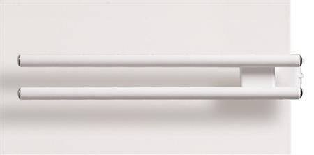 Henrad radiatoren Henrad Henrad Stelrad handdoekbeugel wit 400mm t22
