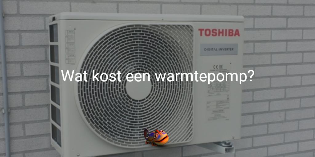 kosten warmtepomp