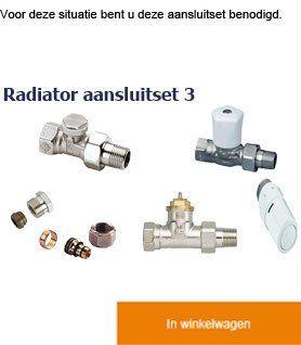 Radiator aansluiten – Advies online | CVtotaal.nl
