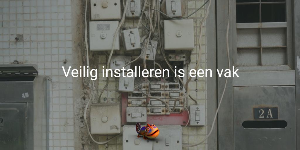cv-ketel installatie veilig