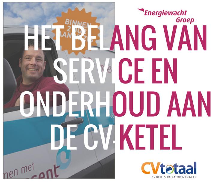 belang van service en onderhoud aan cv-ketel