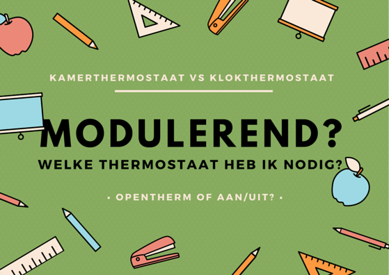 Welke thermostaat