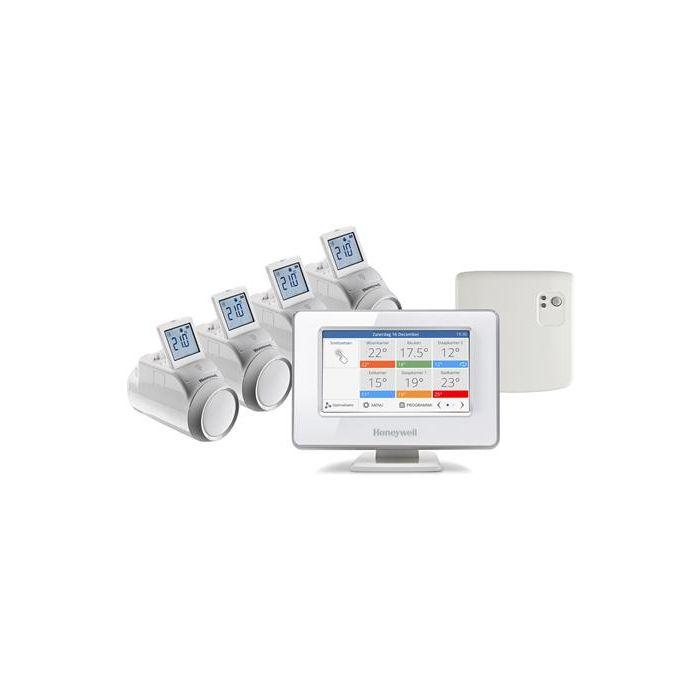 Honeywell evohome wifi 4-zone radiator opentherm