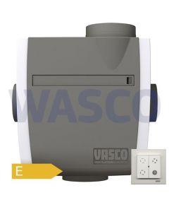 Vasco ventilatiebox inclusief afstandsbediening
