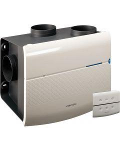 Orcon Mvs 15 rhbp vochtsensor, afstandsbediening, perilex