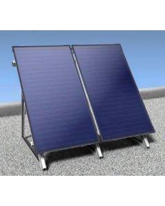 Nefit SolarLine platdak 2V SCM3 2 collectoren/verticaal
