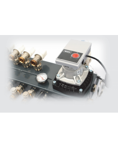 Compact vloerverwarmingsverdeler 8-gr
