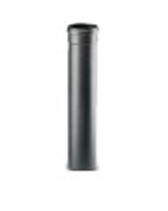 Artel afvoerbuis enkelwandig Ø80mm L:100cm tbv pelletkachel zwart