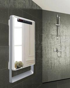 DRL Aurora touch 230V 1800W elektrisch wit excl spiegel