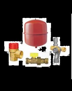 Ketelaansluitpakket RSP Basic 25/0,5bar rood