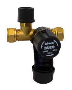 inlaatcombinatie 6 bar   boiler beveiliging
