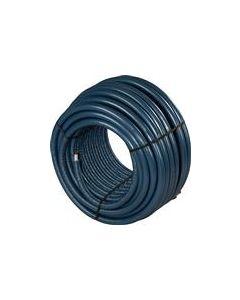 Uponor Buis 16x2mm 4mm isolatie blauw rol=100mtr
